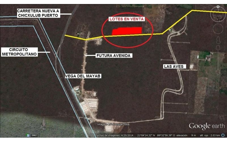 Foto de terreno habitacional en venta en  , conkal, conkal, yucatán, 1694286 No. 01