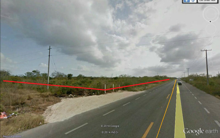 Foto de terreno habitacional en venta en  , conkal, conkal, yucatán, 1715340 No. 02