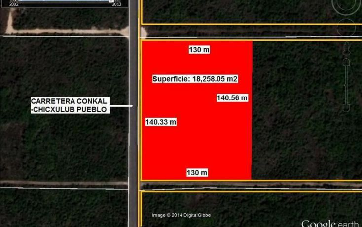 Foto de terreno habitacional en venta en, conkal, conkal, yucatán, 1715340 no 04