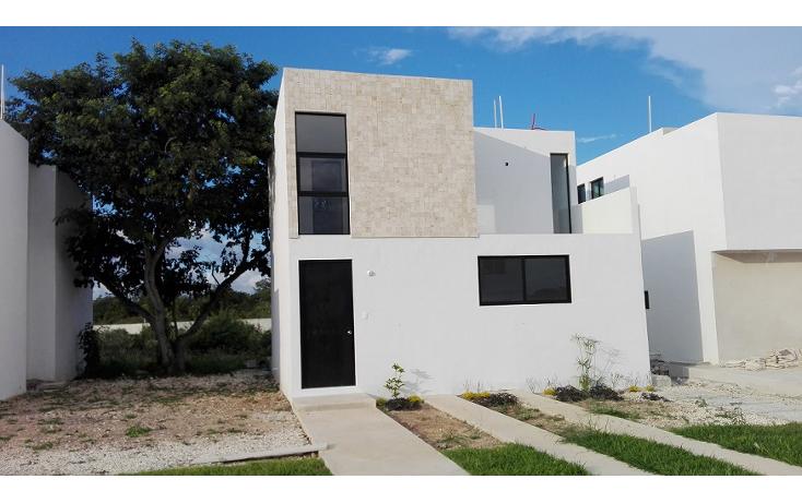 Foto de casa en condominio en venta en  , conkal, conkal, yucatán, 1718966 No. 01