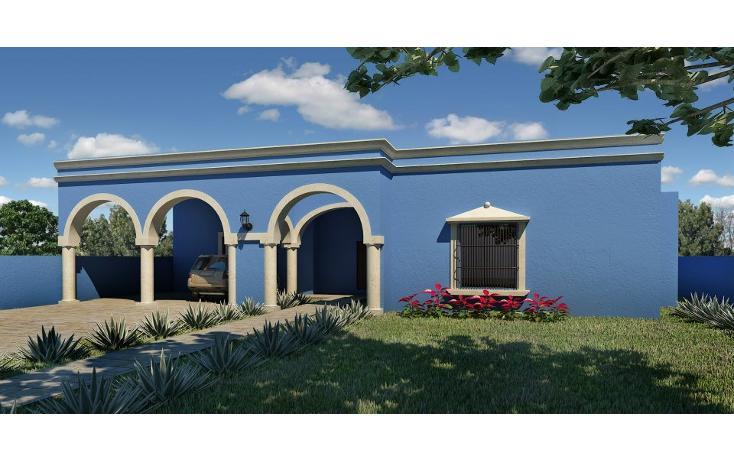 Foto de casa en venta en  , conkal, conkal, yucatán, 1719490 No. 01