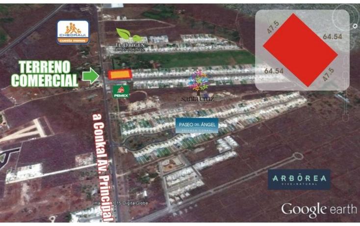 Foto de terreno comercial en venta en  , conkal, conkal, yucatán, 1734332 No. 05