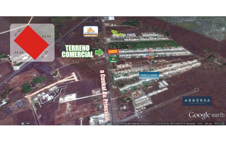 Foto de terreno habitacional en venta en  , conkal, conkal, yucatán, 1736674 No. 01