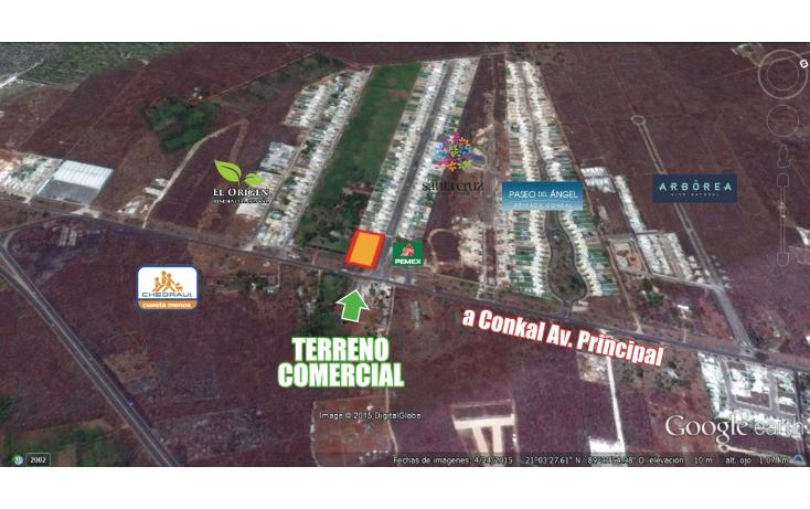 Foto de terreno habitacional en venta en  , conkal, conkal, yucatán, 1736674 No. 02