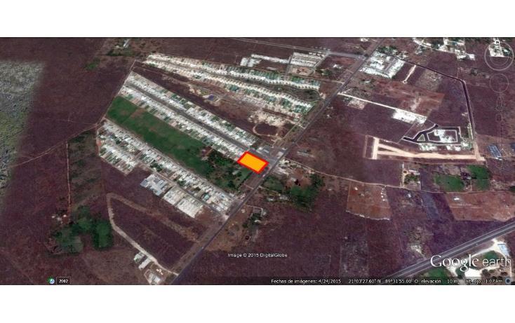 Foto de terreno habitacional en venta en  , conkal, conkal, yucatán, 1736674 No. 08