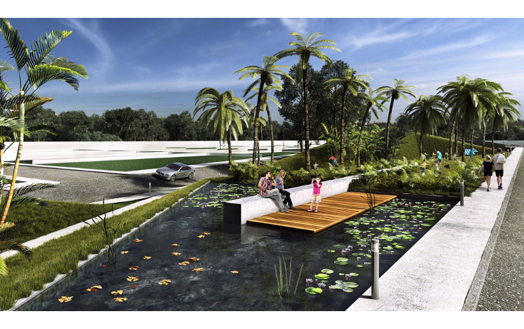 Foto de terreno habitacional en venta en  , conkal, conkal, yucatán, 1753704 No. 03