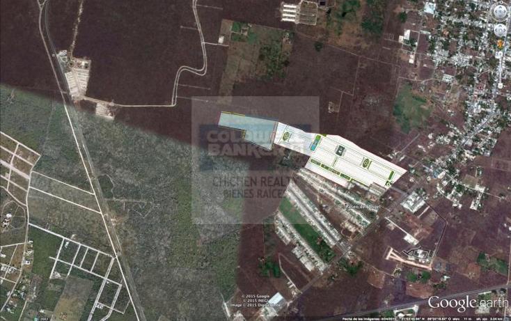 Foto de terreno habitacional en venta en  , conkal, conkal, yucatán, 1754842 No. 04