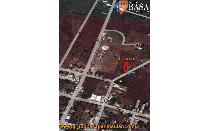 Foto de terreno habitacional en venta en  , conkal, conkal, yucat?n, 1757958 No. 04