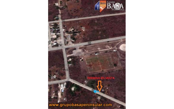 Foto de terreno habitacional en venta en  , conkal, conkal, yucat?n, 1757958 No. 05