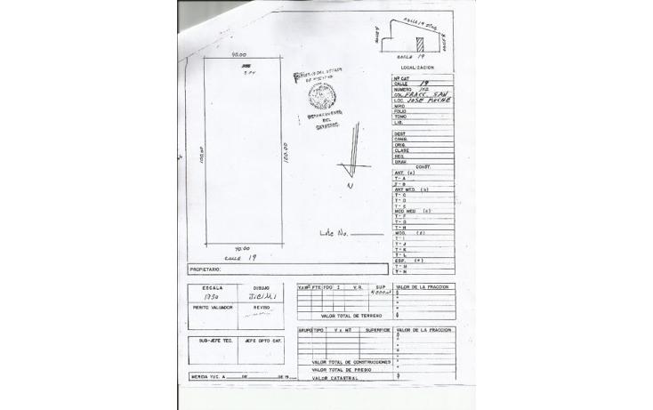 Foto de terreno habitacional en venta en  , conkal, conkal, yucatán, 1759362 No. 03