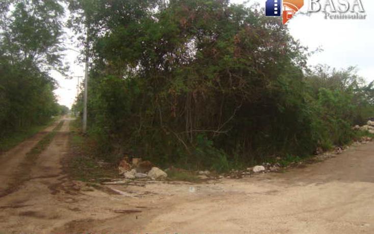 Foto de terreno habitacional en venta en  , conkal, conkal, yucat?n, 1760998 No. 01