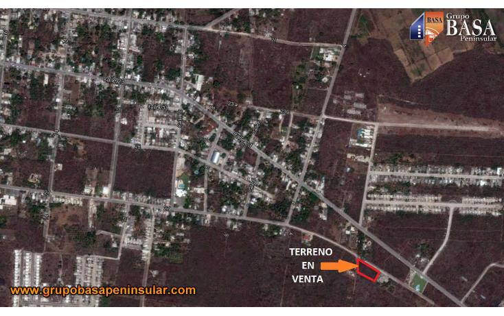 Foto de terreno habitacional en venta en  , conkal, conkal, yucat?n, 1760998 No. 05