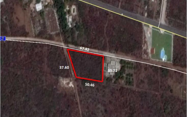 Foto de terreno habitacional en venta en  , conkal, conkal, yucat?n, 1760998 No. 08