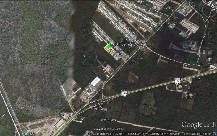 Foto de terreno habitacional en venta en, conkal, conkal, yucatán, 1774980 no 02