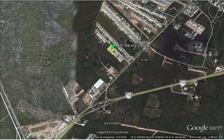 Foto de terreno habitacional en venta en  , conkal, conkal, yucat?n, 1774980 No. 02