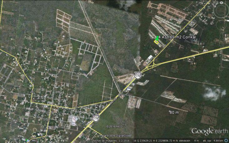 Foto de terreno habitacional en venta en, conkal, conkal, yucatán, 1774980 no 03