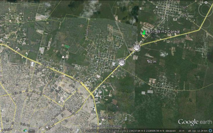 Foto de terreno habitacional en venta en, conkal, conkal, yucatán, 1774980 no 04