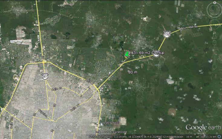 Foto de terreno habitacional en venta en, conkal, conkal, yucatán, 1774980 no 05