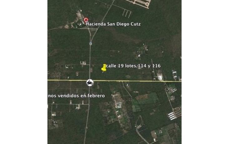 Foto de terreno habitacional en venta en  , conkal, conkal, yucatán, 1777294 No. 01