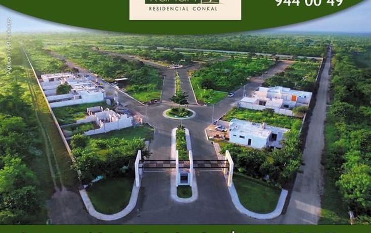 Foto de terreno habitacional en venta en  , conkal, conkal, yucatán, 1787842 No. 01