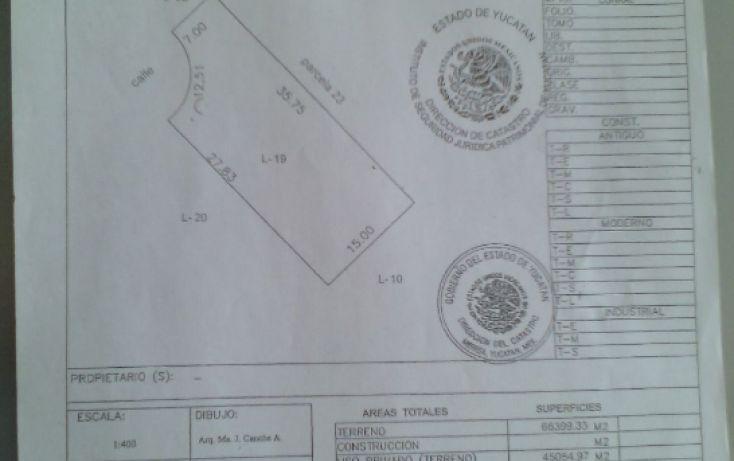 Foto de terreno habitacional en venta en, conkal, conkal, yucatán, 1793302 no 02
