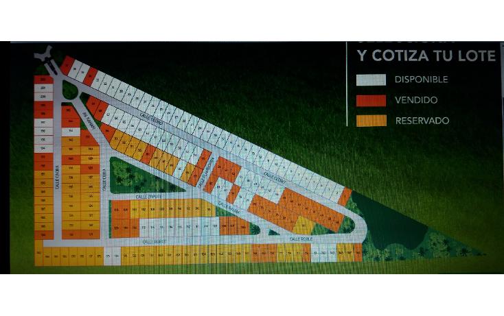 Foto de terreno habitacional en venta en  , conkal, conkal, yucatán, 1808308 No. 02