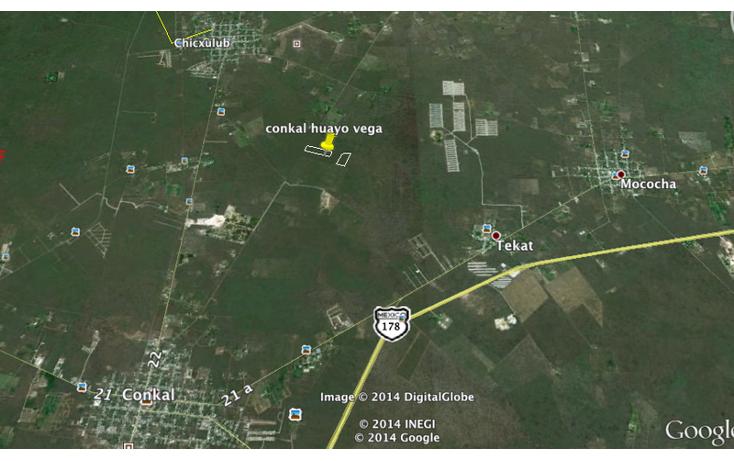 Foto de terreno habitacional en venta en  , conkal, conkal, yucat?n, 1860474 No. 02