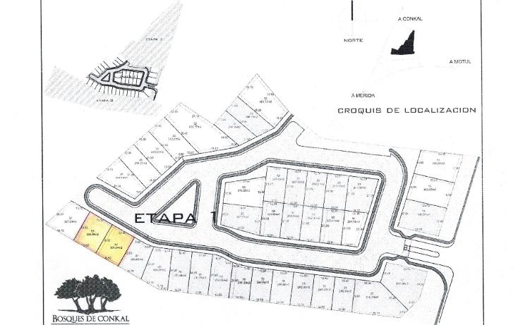 Foto de terreno habitacional en venta en  , conkal, conkal, yucatán, 1899710 No. 02