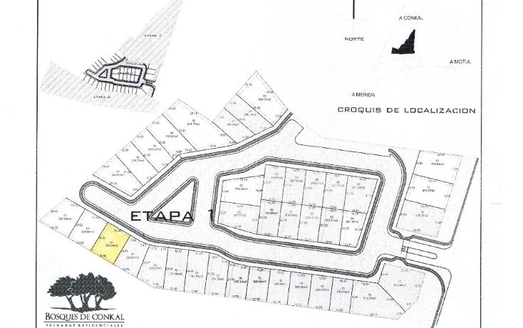 Foto de terreno habitacional en venta en  , conkal, conkal, yucat?n, 1905000 No. 01