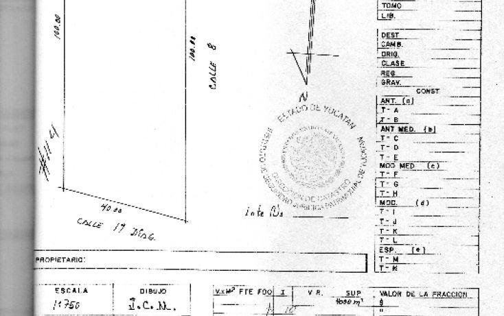 Foto de terreno habitacional en venta en, conkal, conkal, yucatán, 1907318 no 04