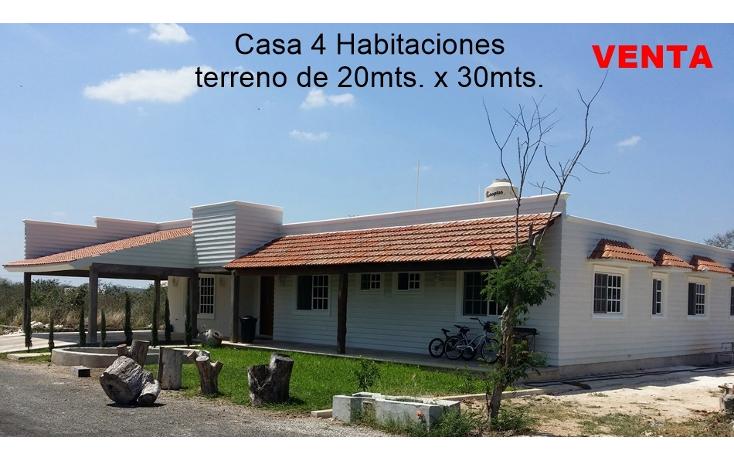 Foto de casa en venta en  , conkal, conkal, yucat?n, 1927633 No. 01