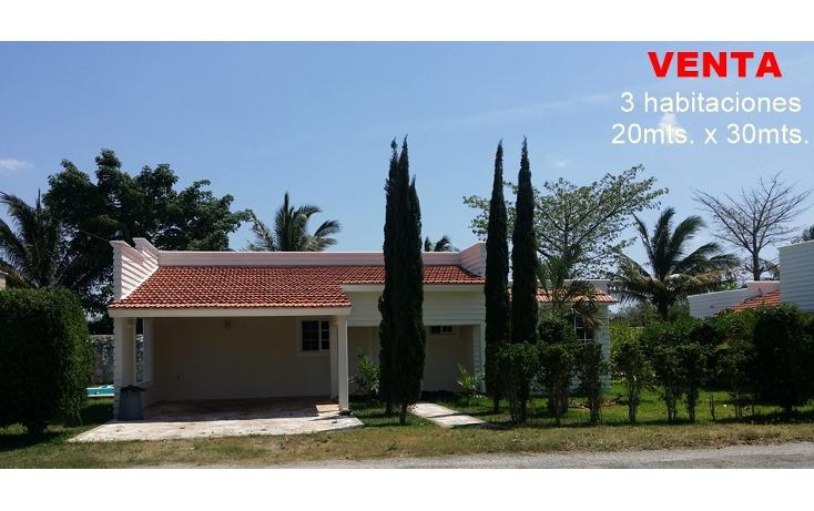 Foto de casa en venta en  , conkal, conkal, yucat?n, 1927635 No. 01