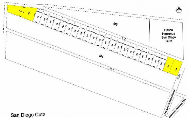 Foto de terreno habitacional en venta en, conkal, conkal, yucatán, 1939612 no 01