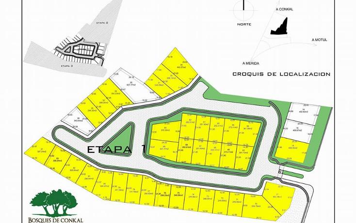 Foto de terreno habitacional en venta en  , conkal, conkal, yucatán, 1949256 No. 01