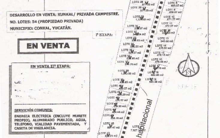 Foto de casa en venta en, conkal, conkal, yucatán, 1959750 no 08