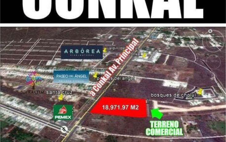 Foto de terreno comercial en venta en, conkal, conkal, yucatán, 1972818 no 01