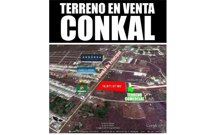 Foto de terreno comercial en venta en  , conkal, conkal, yucat?n, 1972818 No. 01