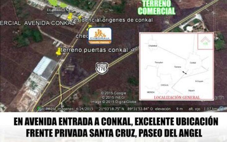 Foto de terreno comercial en venta en, conkal, conkal, yucatán, 1972818 no 02