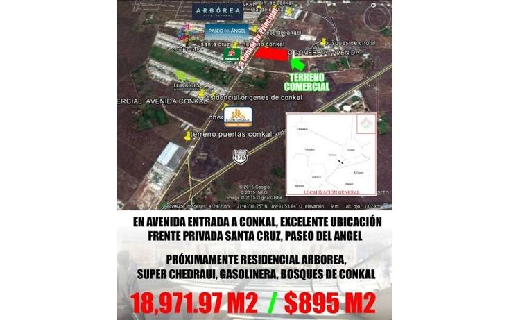 Foto de terreno comercial en venta en  , conkal, conkal, yucat?n, 1972818 No. 02