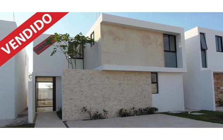 Foto de casa en venta en  , conkal, conkal, yucatán, 2035864 No. 01