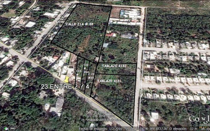 Foto de terreno habitacional en venta en, conkal, conkal, yucatán, 2042678 no 03