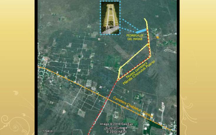 Foto de terreno habitacional en venta en  , conkal, conkal, yucatán, 2638164 No. 04
