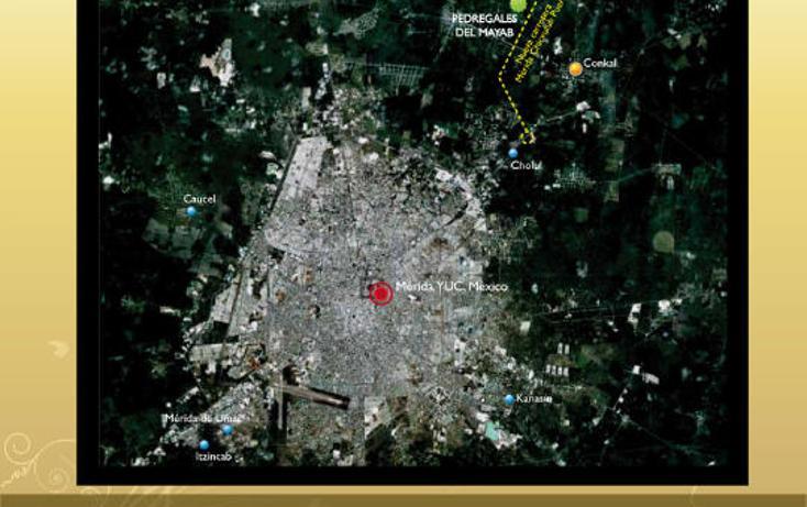Foto de terreno habitacional en venta en  , conkal, conkal, yucatán, 2638164 No. 07
