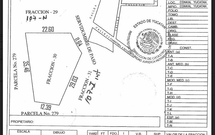 Foto de terreno habitacional en venta en  , conkal, conkal, yucatán, 3425578 No. 01