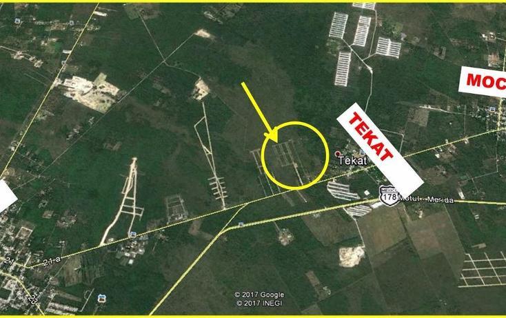 Foto de terreno habitacional en venta en  , conkal, conkal, yucatán, 3426425 No. 05