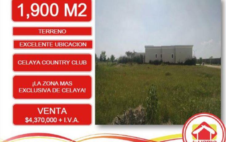 Foto de terreno habitacional en venta en conocida, álamo country club, celaya, guanajuato, 1179999 no 02