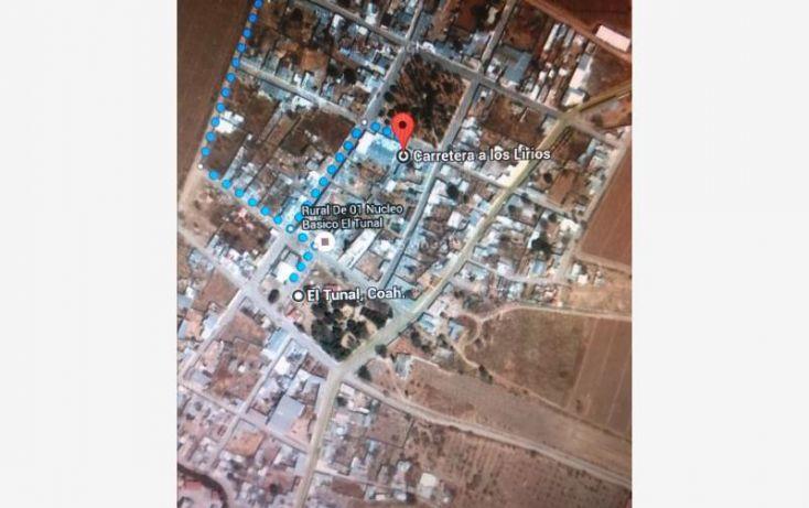 Foto de terreno habitacional en venta en conocido lote 8, el tunal, arteaga, coahuila de zaragoza, 1528174 no 05