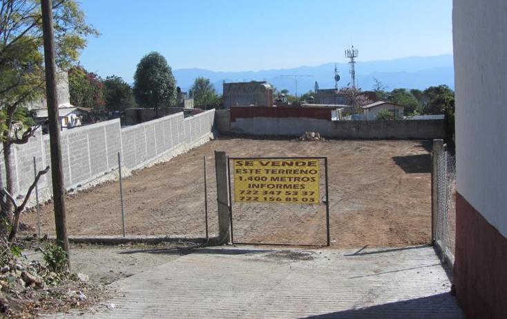 Foto de terreno habitacional en venta en constitucion 1, ixtapan de la sal, ixtapan de la sal, méxico, 392088 No. 01