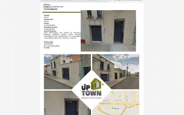 Foto de casa en venta en constituyentes 124, la palma, toluca, estado de méxico, 1414139 no 01