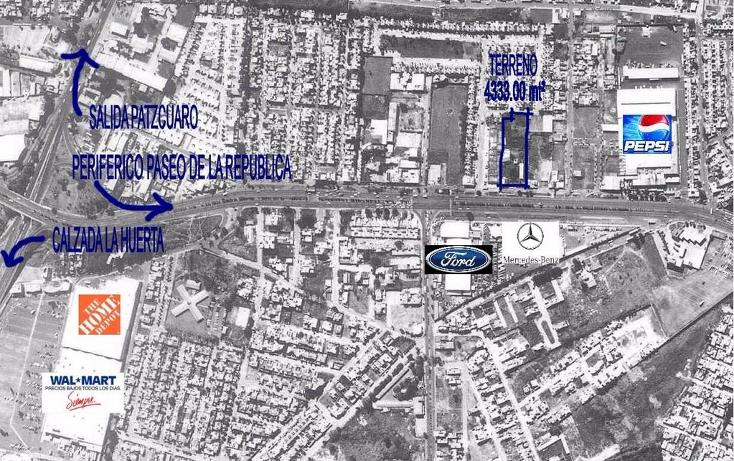 Foto de terreno comercial en venta en  , constituyentes de apatzingan de 1814, morelia, michoacán de ocampo, 942089 No. 02